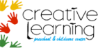 creative learning preschool and childcare center logo